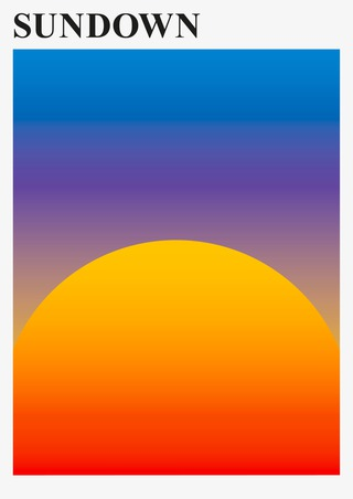 Sundown – Poster Series