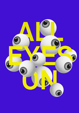 All Eyes On – Poster